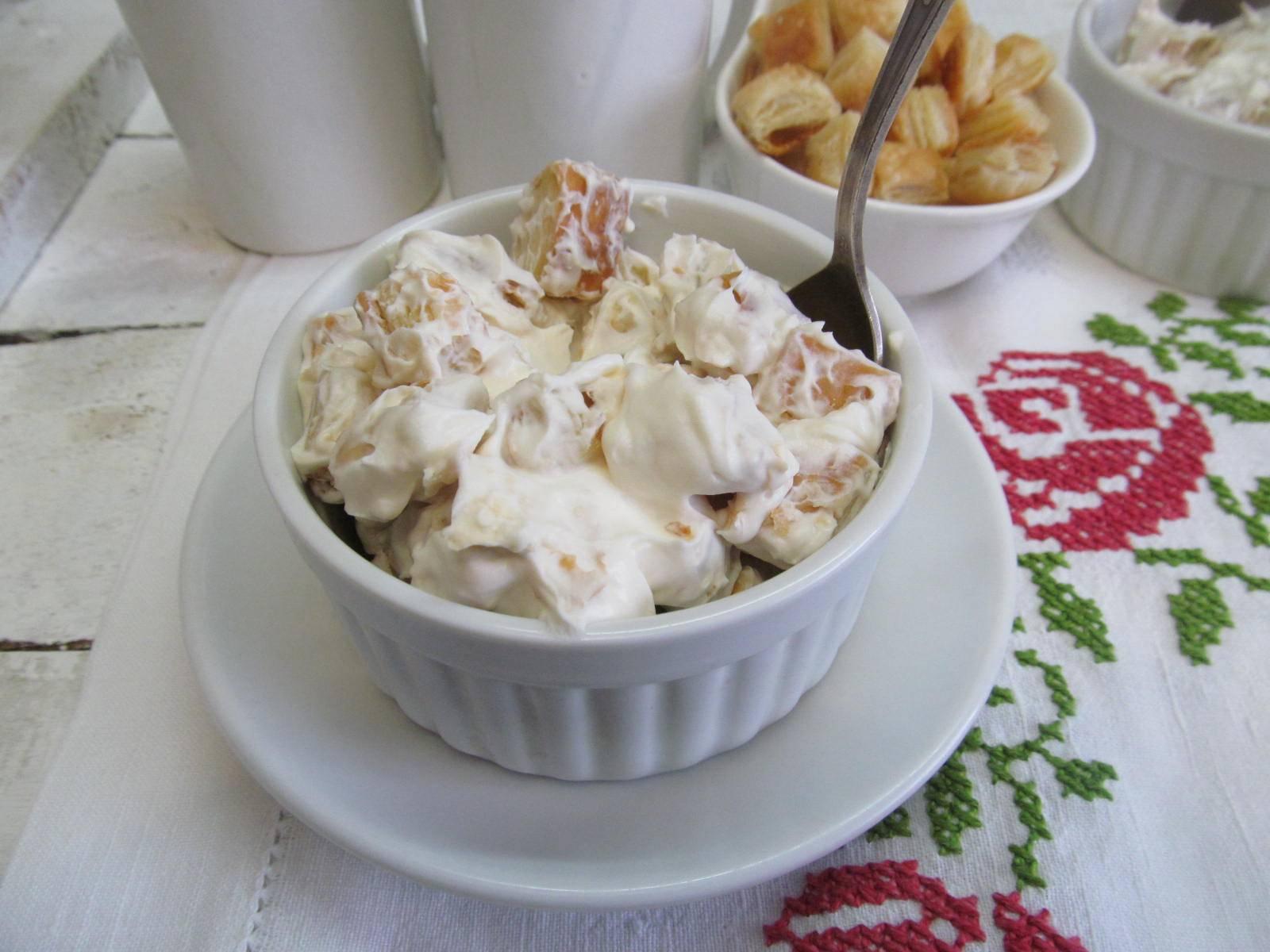 Ленивый десерт из творога за 5 минут