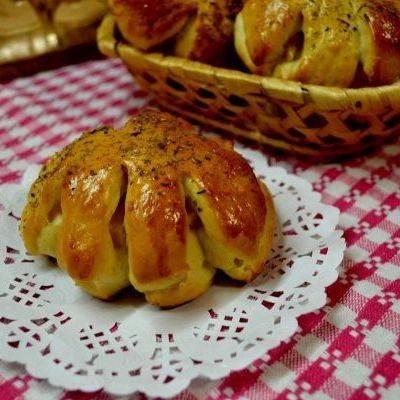 Творожные булочки-косички