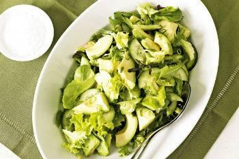Салат из свежей пекинской капусты
