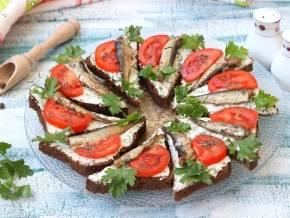 Бутерброд «Капрезе» на гриле за 10 минут