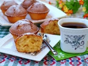 Пышный кекс на кефире с орехами - 6 пошаговых фото в рецепте