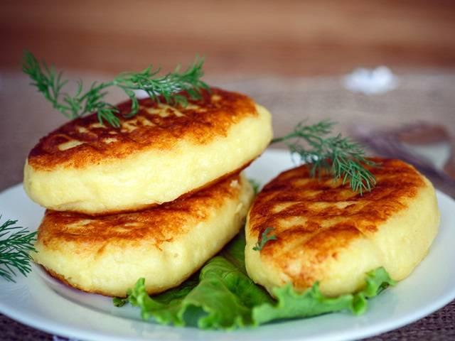 Картофельные котлеты с сыром и зеленью - проверенный рецепт
