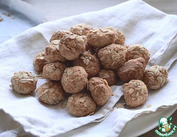 Кулинария мастер-класс день рождения рецепт кулинарный овсяные конфетки-трюфели продукты пищевые