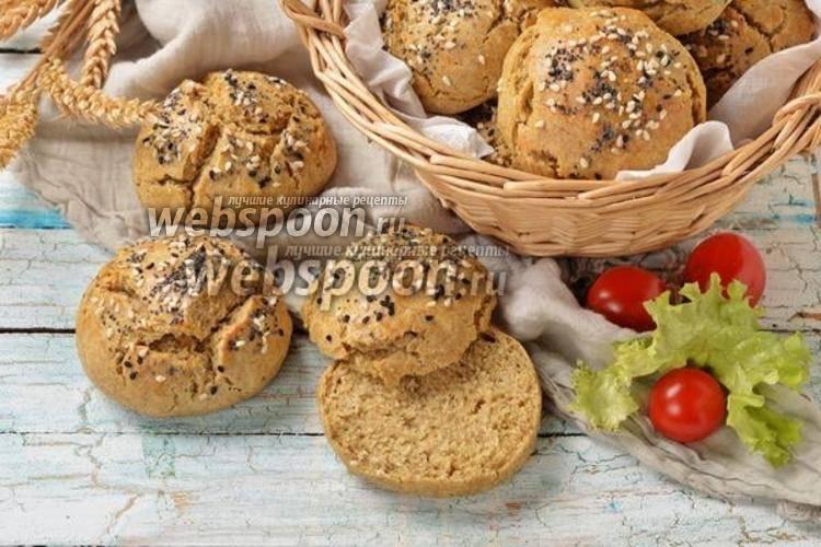 Как испечь булочки на кефире без дрожжей по пошаговому рецепту с фото