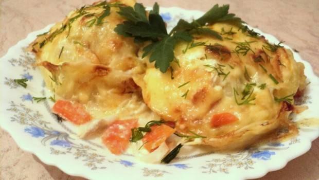 Самый вкусный минтай в духовке - рецепты запеканки, пирога и  рыбного суфле