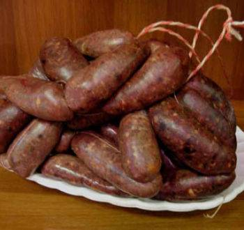 Домашняя печеночная колбаса - рецепт с фото  
