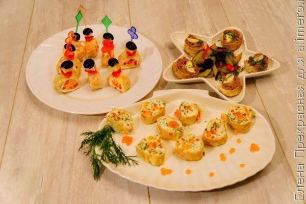 12 оригинальных закусок на праздничный стол