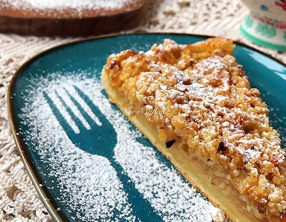 Простой и нежный пирог с грушами для осеннего чаепития