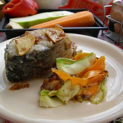 Что приготовить на 8 марта - жареный карп с чесноком и красным перцем