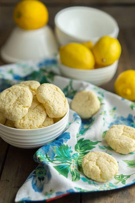 Мягкое лимонное печенье рецепт с фото