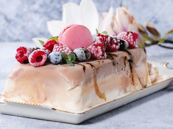 Десерт из мороженого: рецепты с фото