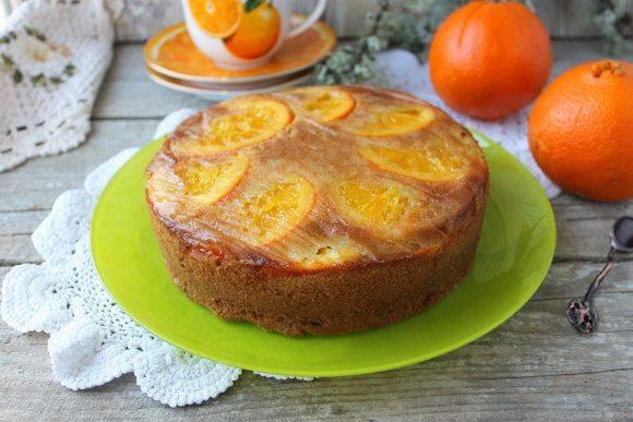 Пирог с мандаринами— 10 классных рецептов для сладкоежек