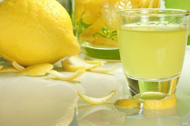 """Домашний ликер """"лимончелло"""": рецепт приготовления"""