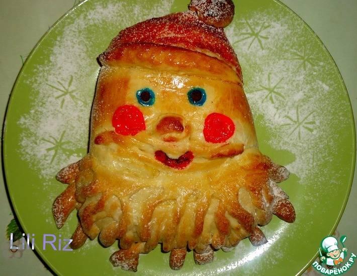 "Пирог ""дед мороз"" - 9 пошаговых фото в рецепте"