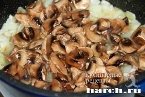 Каша из четырех круп с грибами