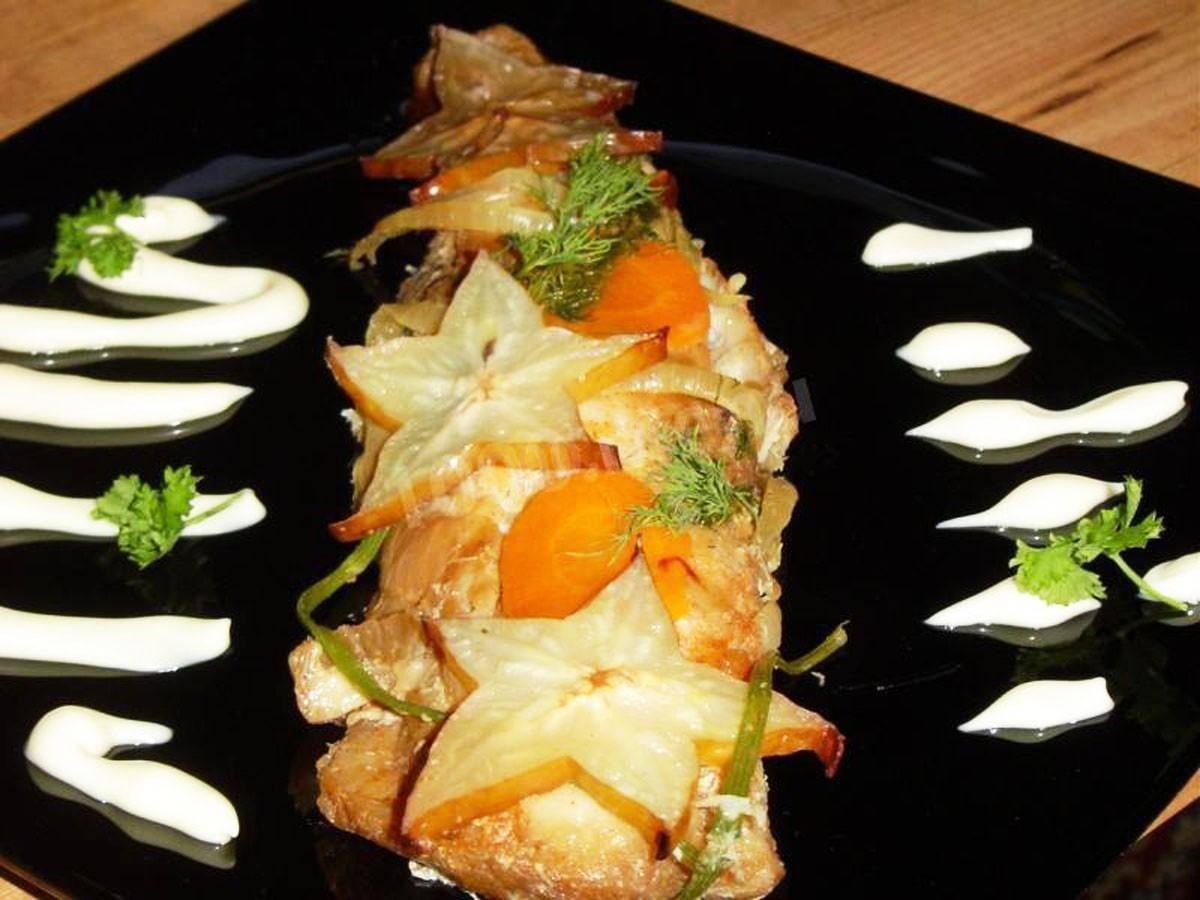 Рецепт морской рыбы в духовке. филе рыбы в духовке. как вкусно запечь рыбное филе.
