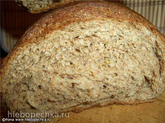 Хлеб пшенично-ржаной с отрубями