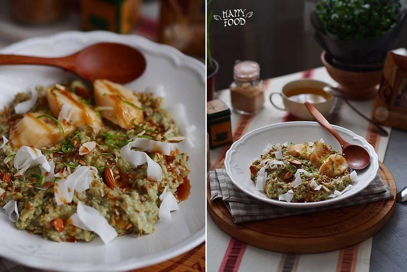 Завтрак для плоского живота: овсянка и семена чиа