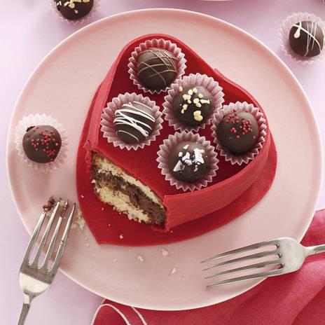 Шоколадные десерты ко дню святого валентина
