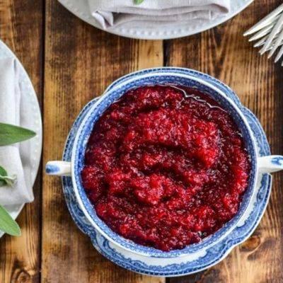 7 лучших рецептов соуса из клюквы