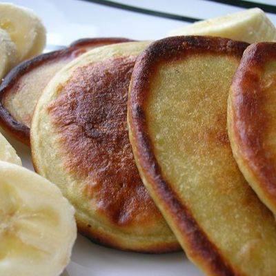 Быстрые банановые оладьи к завтраку - постимся вкусно