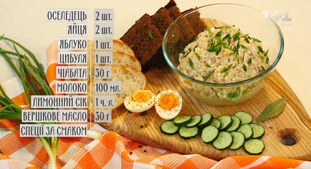 Форшмак из селедки (классические рецепты)