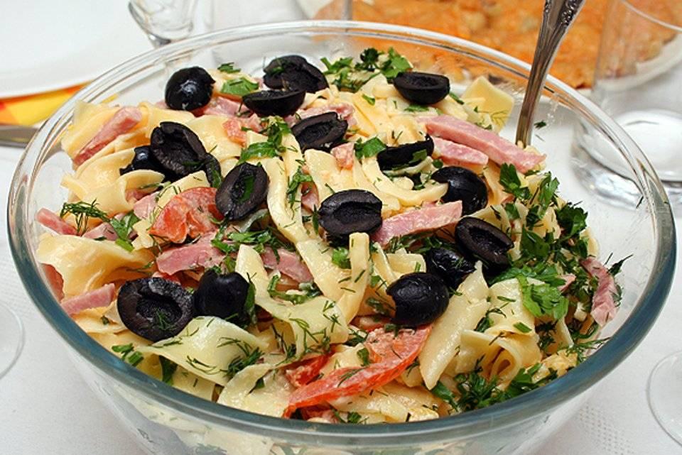 Салат итальянские каникулы