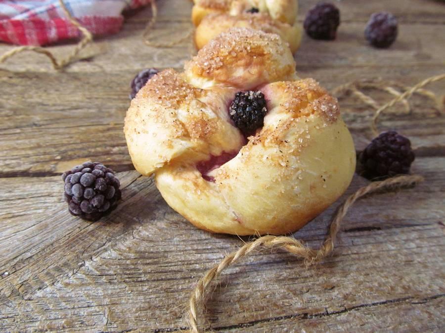 Пироги с ежевикой: пошаговые рецепты с фото для легкого приготовления