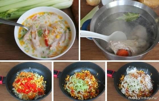 Суп клэм-чаудер