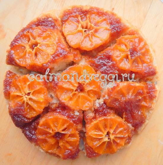 Пирог с мандаринами - 10 пошаговых рецептов с фото, шарлотка, заливной