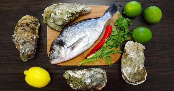 Холодная перуанская закуска из сырой рыбы - севиче