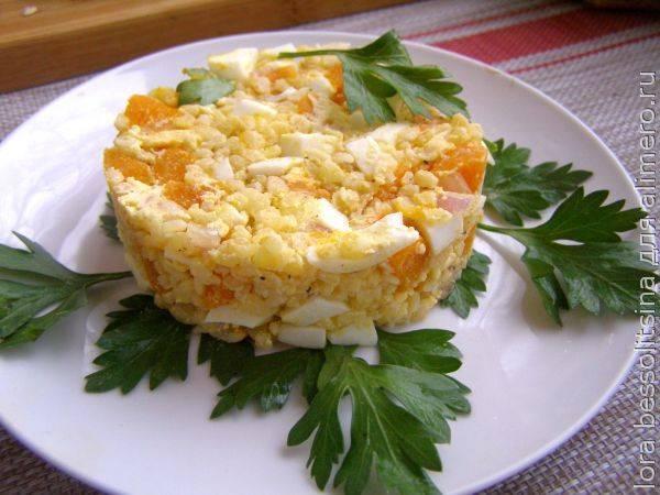 Табуле- салат из булгура - рецепты джуренко