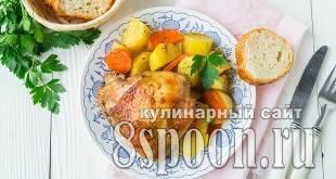 Картошка-гармошка ))) - запись пользователя наталья (lu_natik) в сообществе кулинарное сообщество в категории готовим в духовке (рукав, горшочки, в фольге..) - babyblog.ru