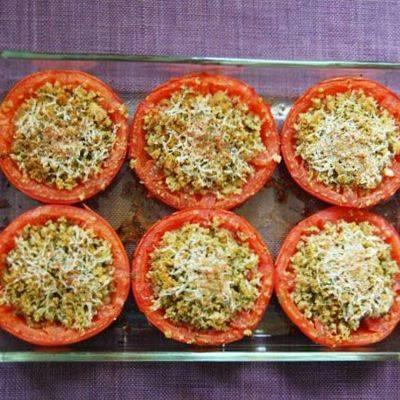 Фаршированные помидоры на праздничный стол
