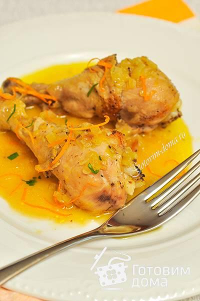 Курица в апельсиновом соусе. пошаговый рецепт с фото
