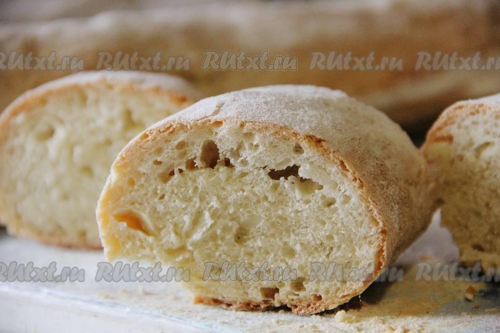 """Итальянский хлеб """"рane italiano"""""""