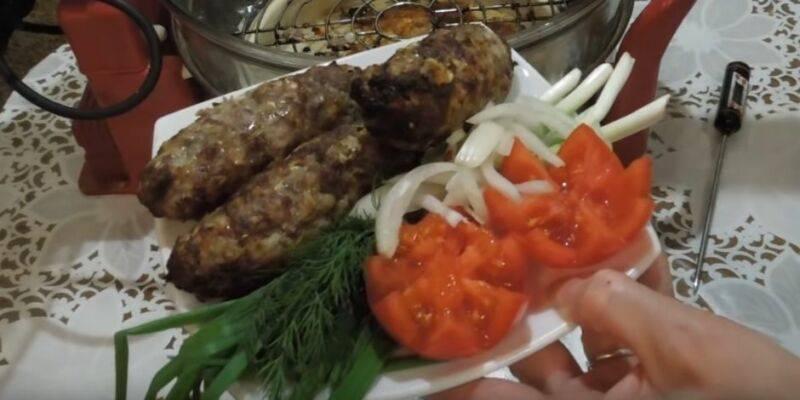 Люля кебаб рецепт приготовления  как готовить из фарша в духовке дома