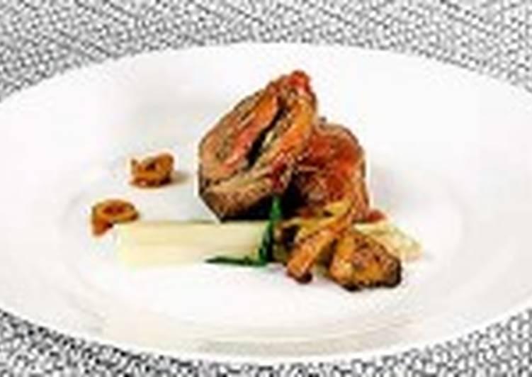 Фаршированное мясо на шпажках