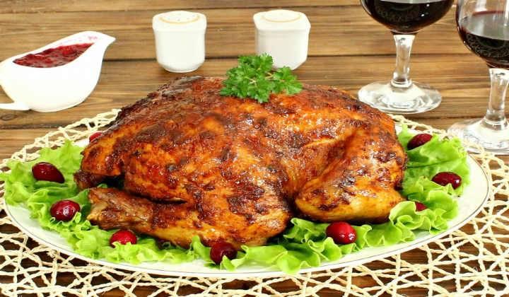 Как запечь курицу в духовке целиком  готовим, запекаем вкусную курочку, приготовление, фото