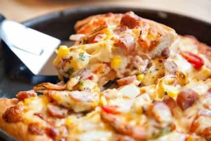 """Пицца на сковороде """"для самых ленивых"""""""