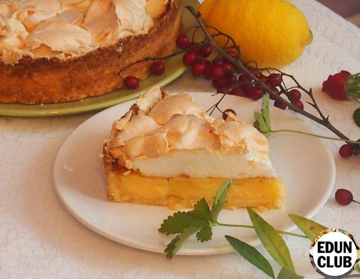 """Лимонный пирог """"эксклюзив"""""""