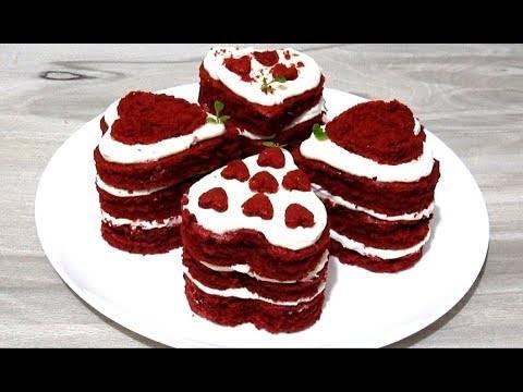 Пирожное  святой валентин
