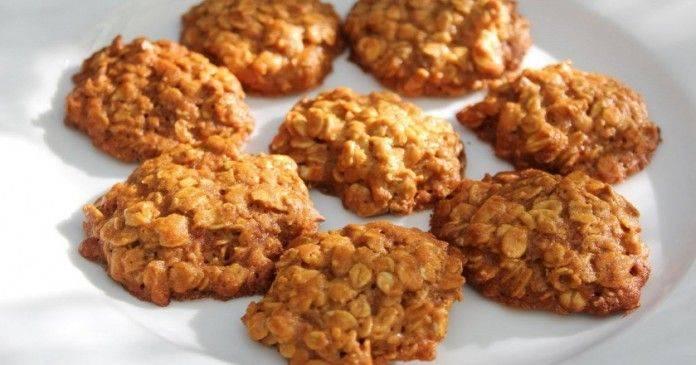 Миндальное печенье без муки и масла