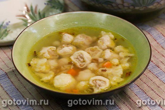 Суп с пельменями - 7 простых сытных рецептов