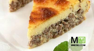 Жидкое тесто для заливного пирога: рецепт и фото