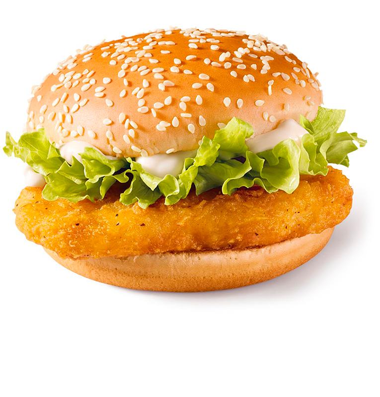 Домашний чикенбургер