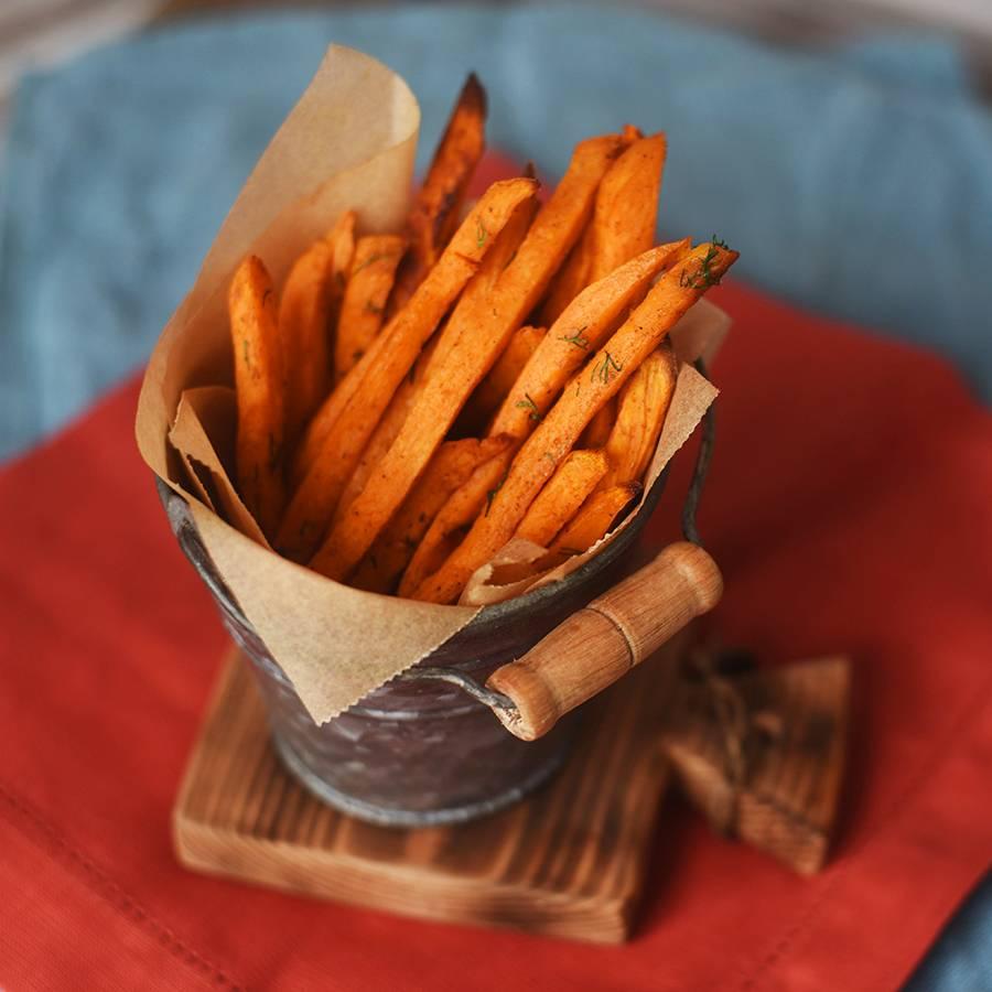 Картофель а-ля фри без масла