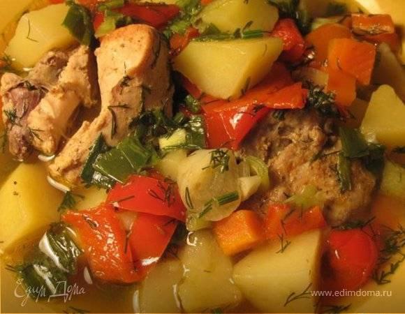Овощное рагу с мясом — кулинарные рецепты любящей жены