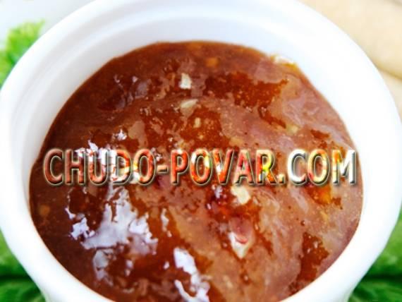 Сливовый соус - необычайно вкусный топпинг  к мясу и не только!