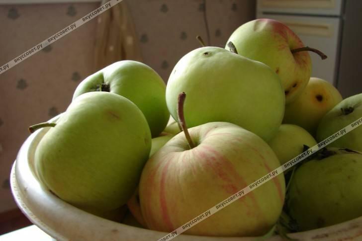 Постный фруктовый крамбл